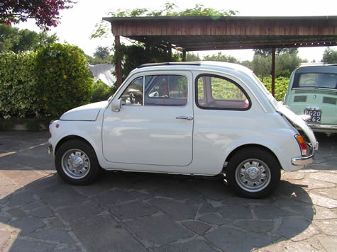 White Fiat 500 For sale